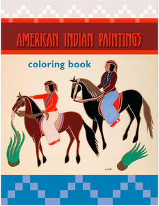 """American Indian Paintings"" Coloring Book"