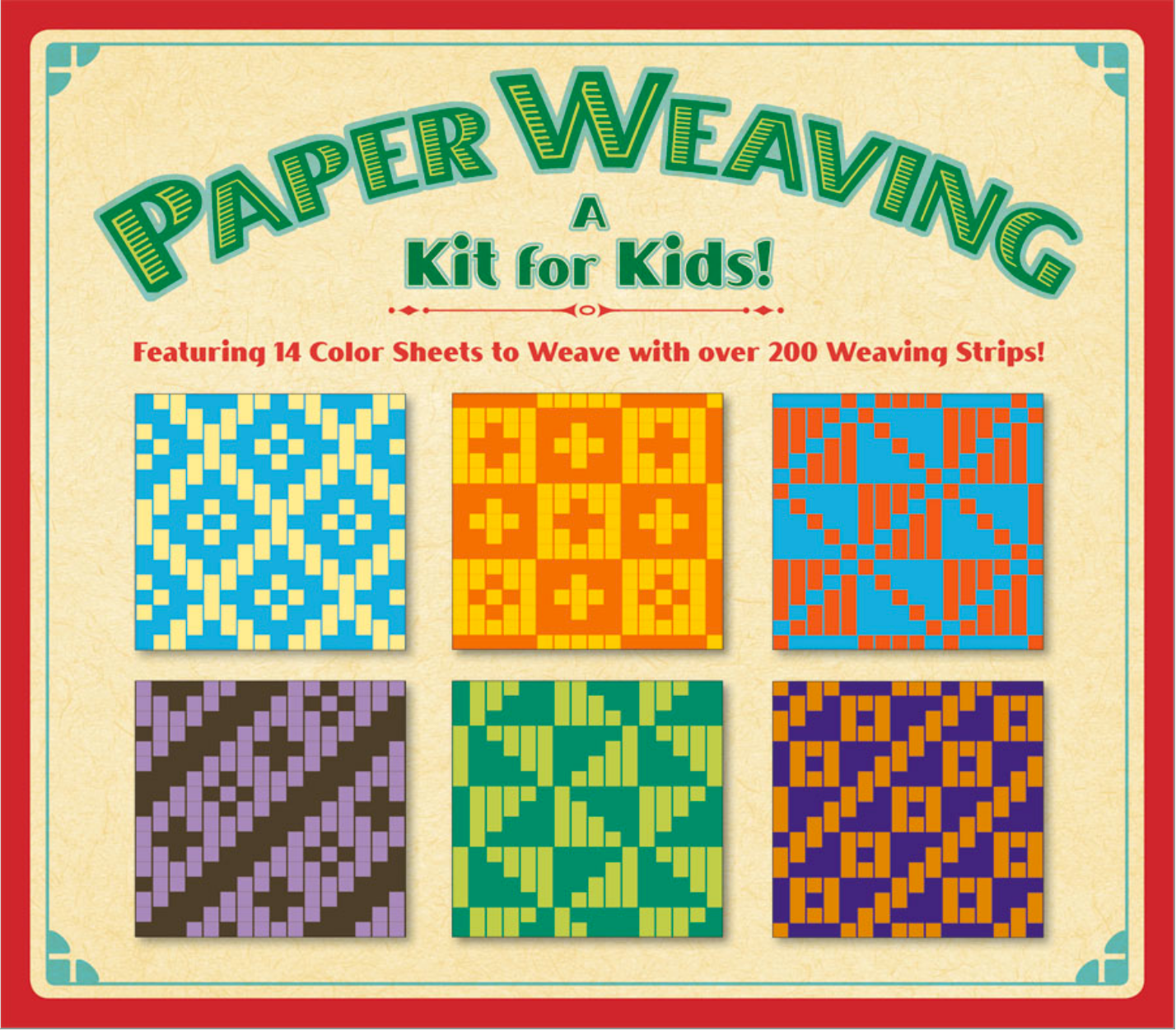 """Paper Weaving,"" A Kit for Kids"