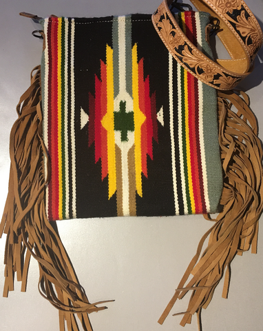 Southwestern Purse with Fringe