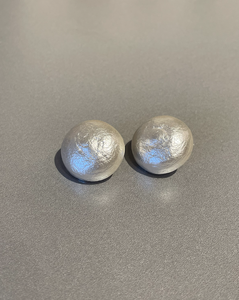 "Yolanta Collection, 1"" Faux Pearl Clip Earrings"