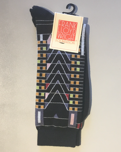 Frank Lloyd Wright Foundation, Men's Socks