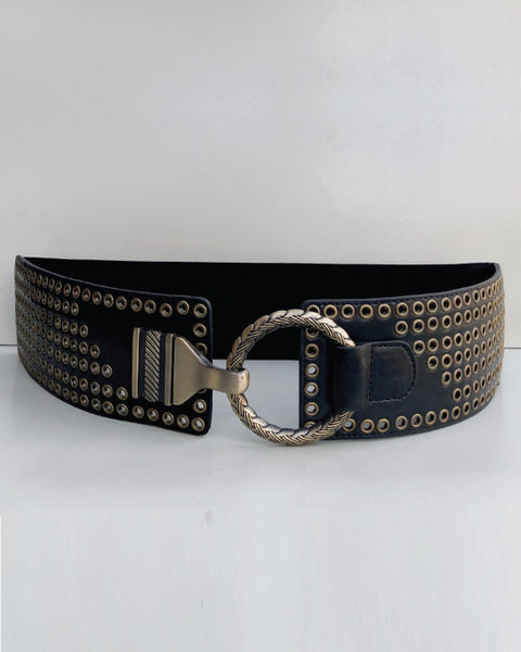 Stretch Belt With Buckle