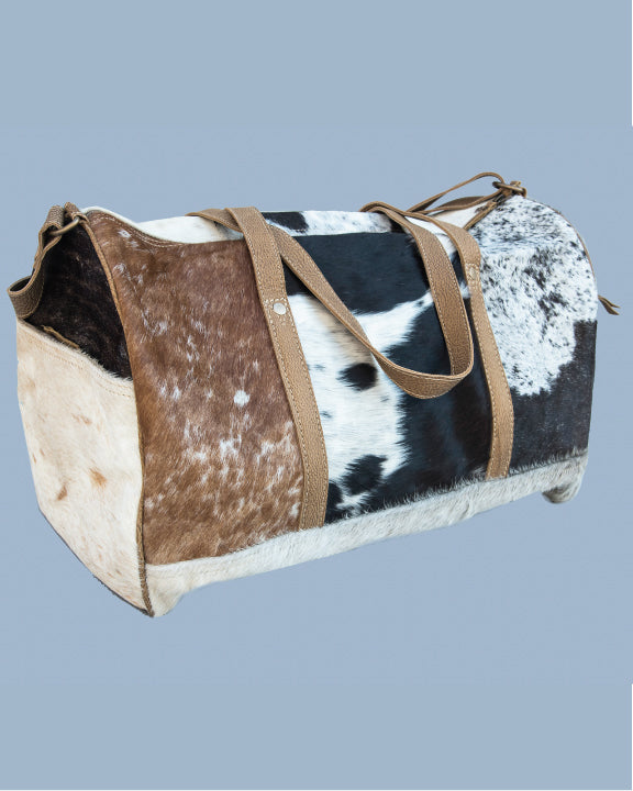 Unisex Overnight Bag with Fur