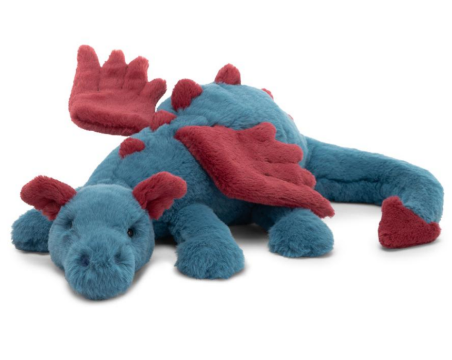 """Little Dexter Dragon"" Jellycat"