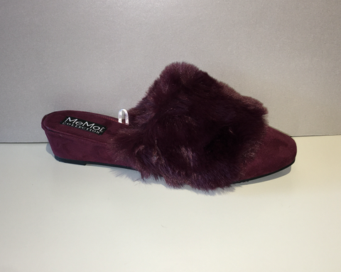 Burgundy Slippers