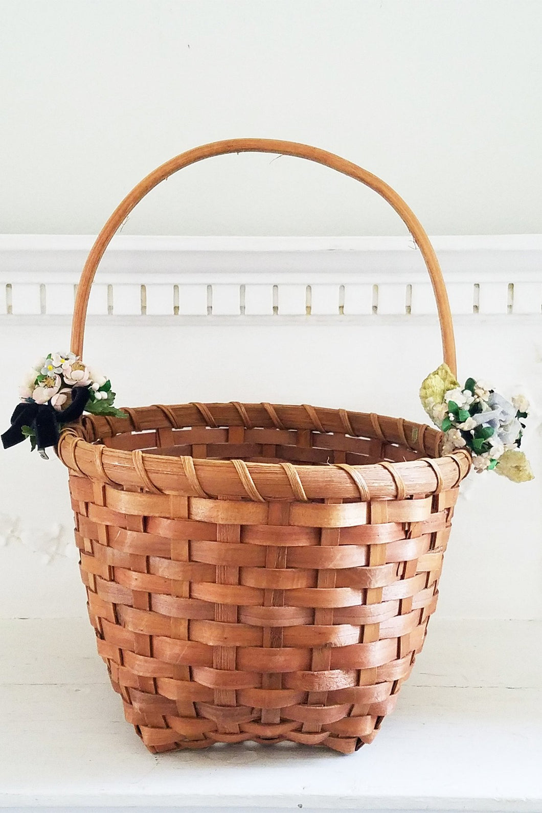 Black Velvet Basket