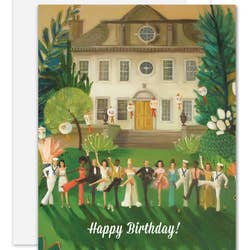 Whiskey Sour High Kick Birthday Card