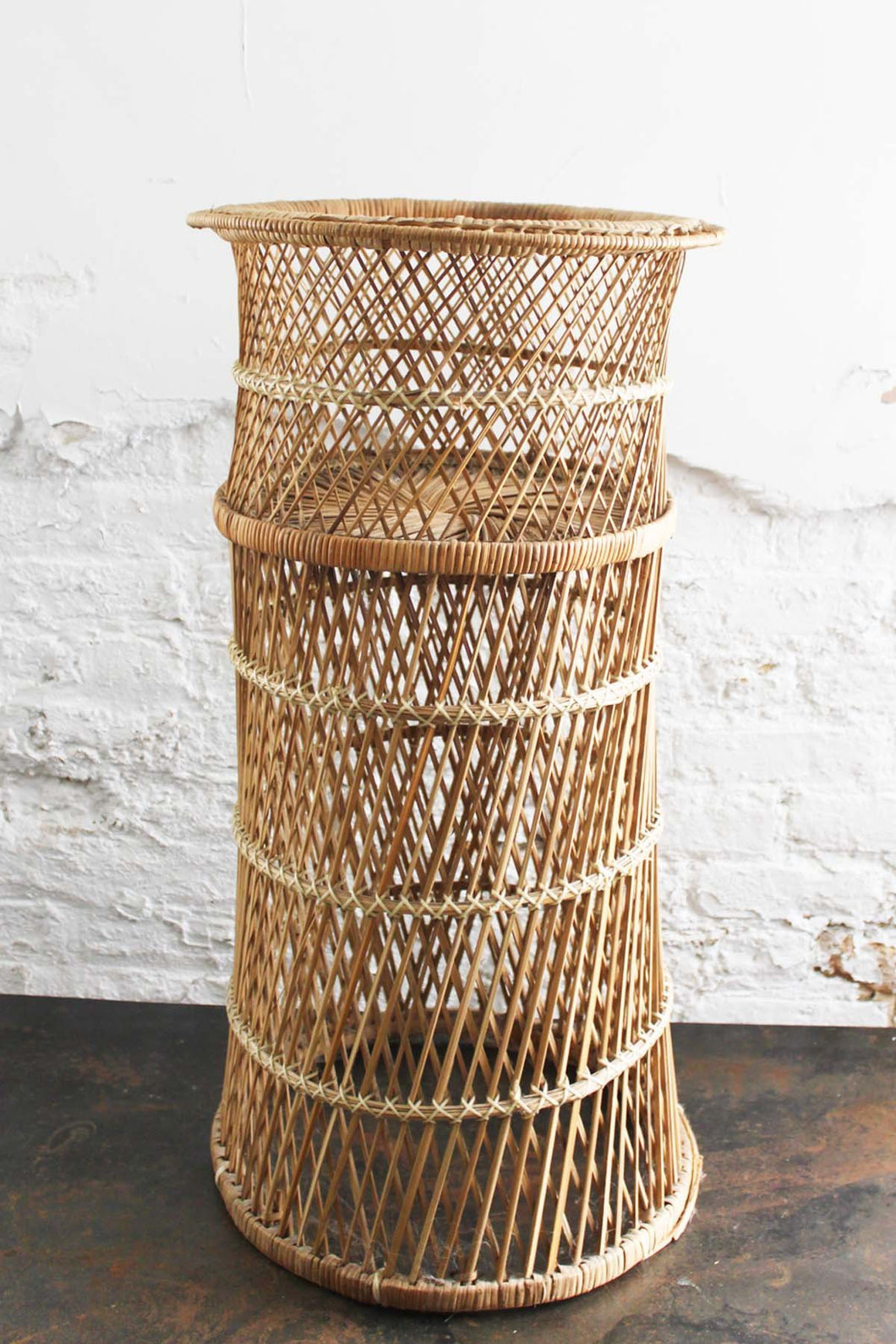 Dinah Wicker Planter