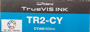 TrueVIS TR2 Ink Cyan 500ml Pouches