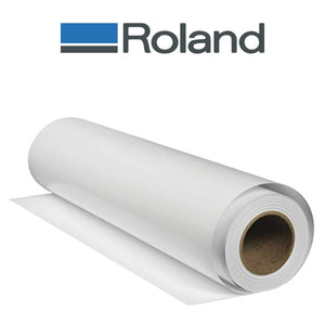 "Solvent Glossy Paper w/ Adhesive 30"" x 100'"
