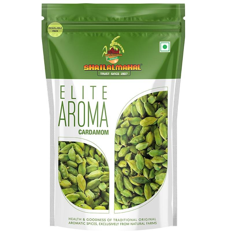 Elite Aroma, Whole Cardamom (100g) SHRILALMAHAL GROUP