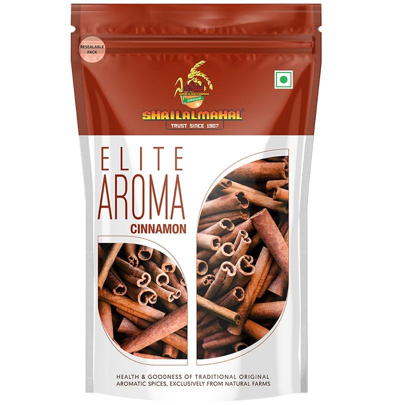 Elite Aroma, Whole Cinnamon (100g) SHRILALMAHAL GROUP