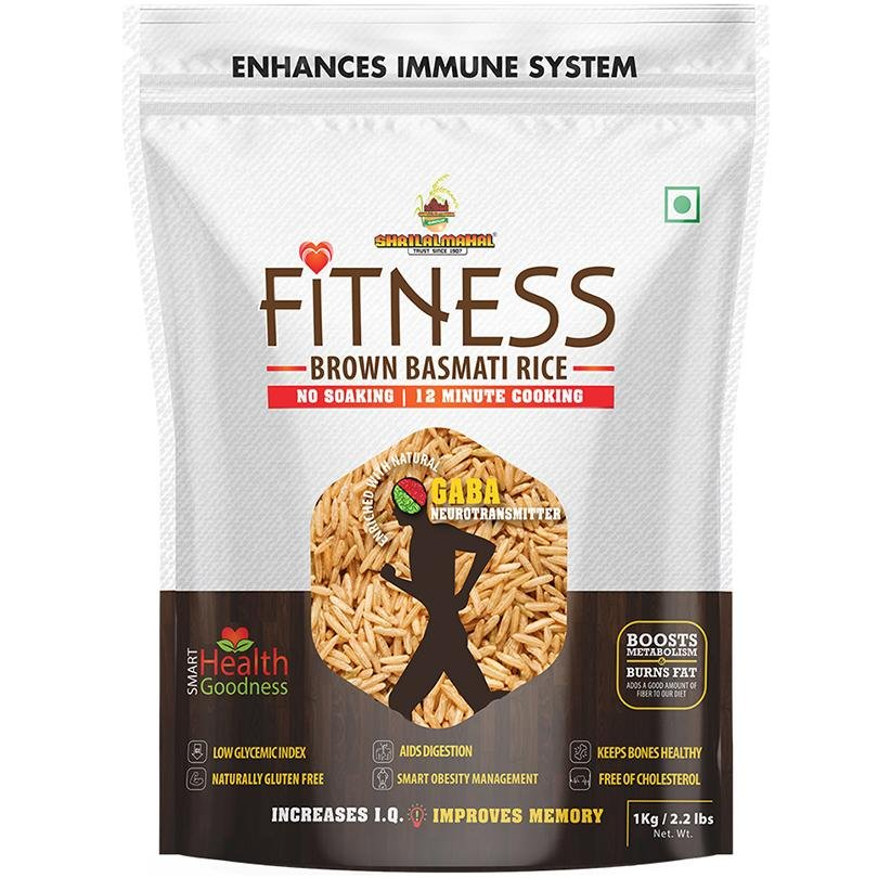 Fitness Brown Basmati Rice SHRILALMAHAL GROUP
