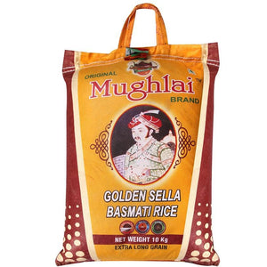 Load image into Gallery viewer, Mughlai Golden Sella Basmati Rice, 10 Kg SHRILALMAHALGROUP