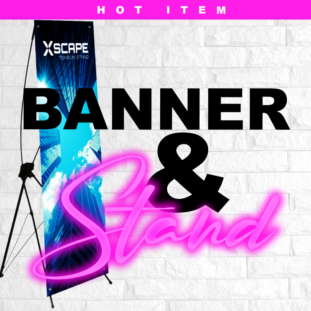 "X-Banner & Stand (24"" X 63.5"")"