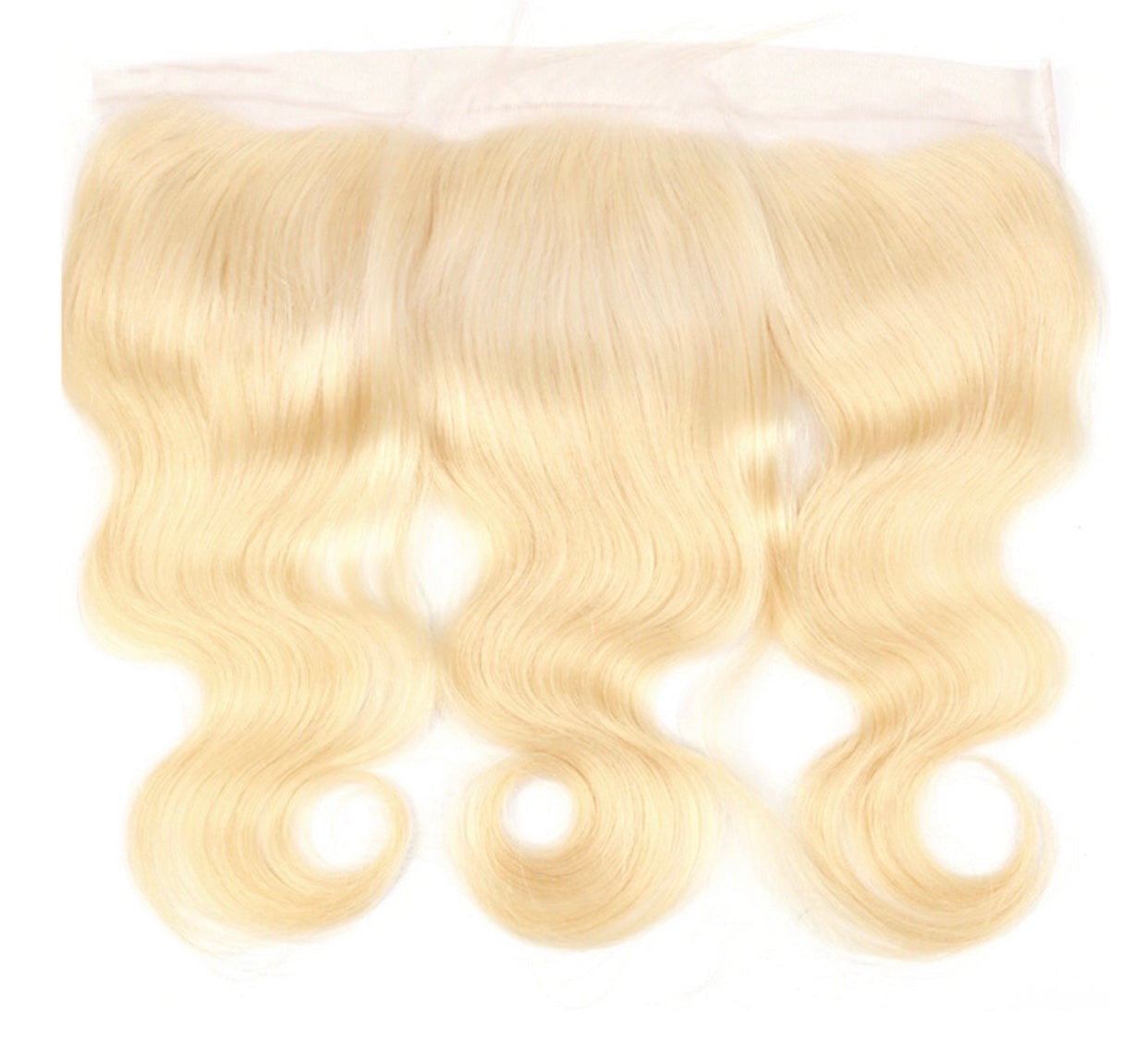 Russian Blonde Body Wave Frontals 13x4