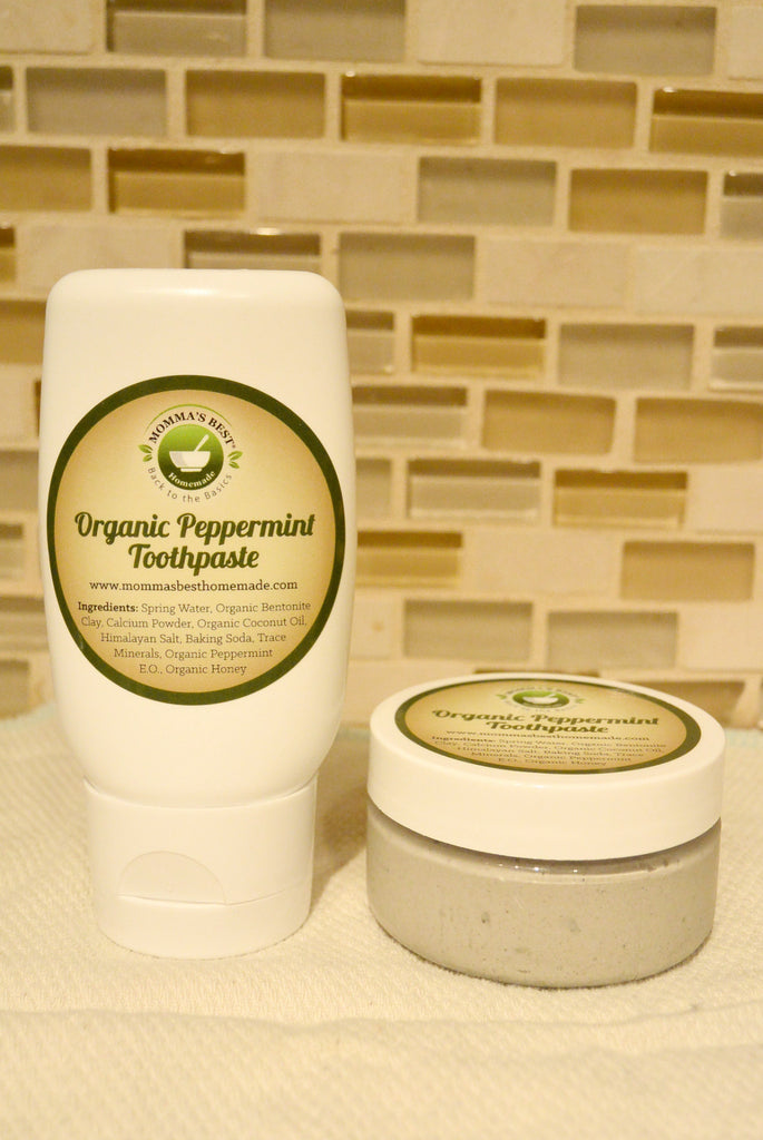 Natural Toothpaste - Homemade Organic Remineralize, Whitening & Cavity Protection ...