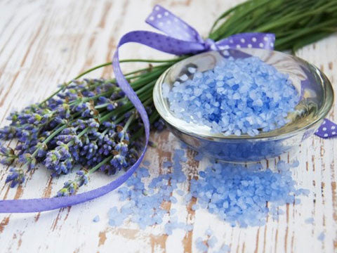 Organic Lavender Bath Salts - Momma's Best Homemade, LLC