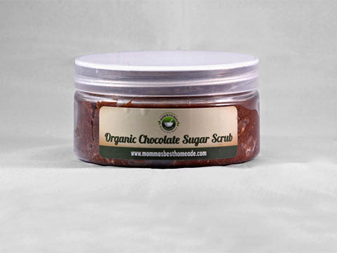 Organic Chocolate Sugar Scrub - Momma's Best Homemade, LLC