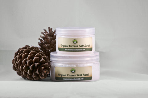 Coconut Salt Body Scrub - Momma's Best Homemade, LLC