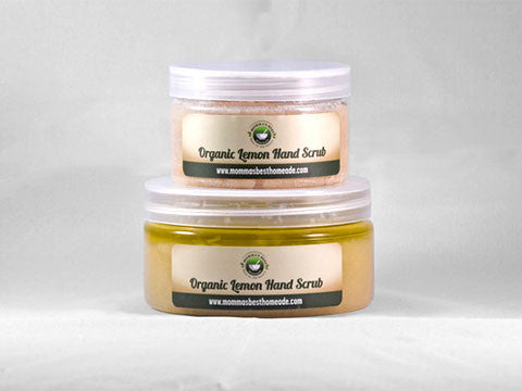 Organic Lemon Hand Scrub - Momma's Best Homemade, LLC