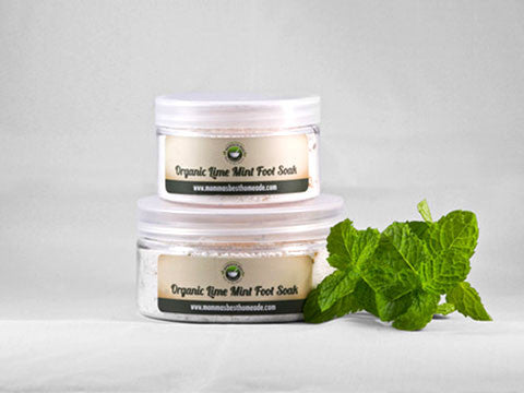 Lime Mint Foot Soak - Momma's Best Homemade, LLC