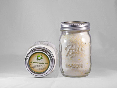 Homemade Laundry Soap (Powdered) Good for HE Washers - Lightly Scented - 3 sizes - Momma's Best Homemade, LLC
