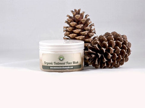 Organic Oatmeal Face Mask - Momma's Best Homemade, LLC