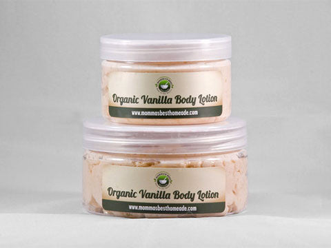Organic Vanilla Body Lotion - Momma's Best Homemade, LLC