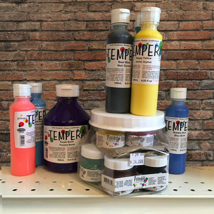 tempera paint - bright lively non-toxic colours