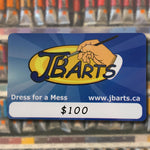 JB Arts Gift Cards