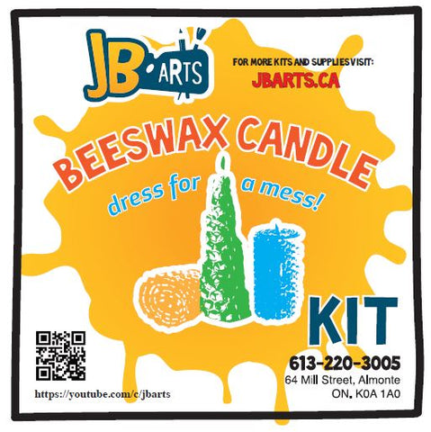 Rolled Beeswax Candle Kit