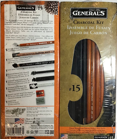 General's #15 Charcoal Kit