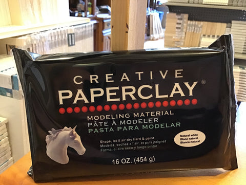 Creative Paperclay, 16 oz.