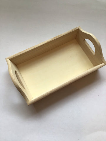 Wooden Tray, Small
