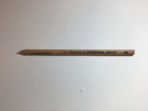 General's Charcoal White Pencil
