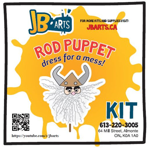 Rod Puppet Kit