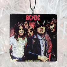 Load image into Gallery viewer, AC-DC Highway To Hell Custom Album Cover Glass Ornament by BBJ