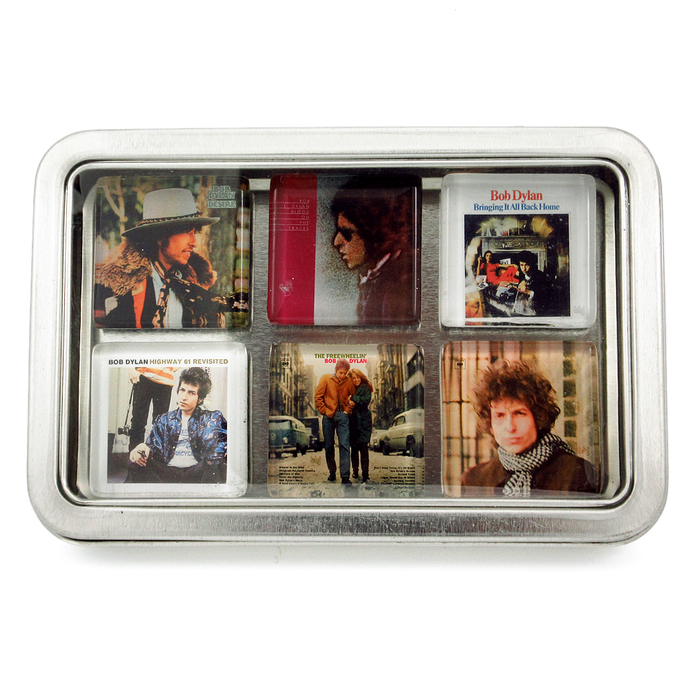 Bob Dylan Album Cover Magnets Box Set by BBJ