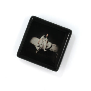 Glass album Cover magnet by BBJ - Billie Eilish When We All Fall Asleep, Where Do We Go?