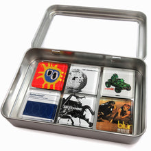 Load image into Gallery viewer, Customized glass album cover magnet set by BBJ - Primal Scream LCD Soundsystem Gorillaz Spiritualized Massive Attack Blur