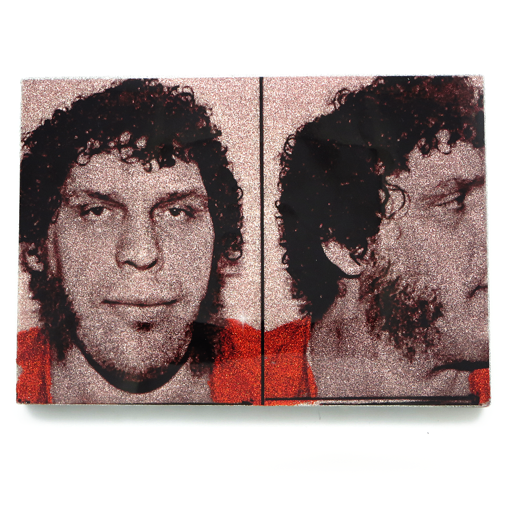 Andre the Giant mug shot wall art plaque