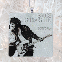 Load image into Gallery viewer, Bruce Springsteen Born To Run Album Cover Glass Ornament by BBJ