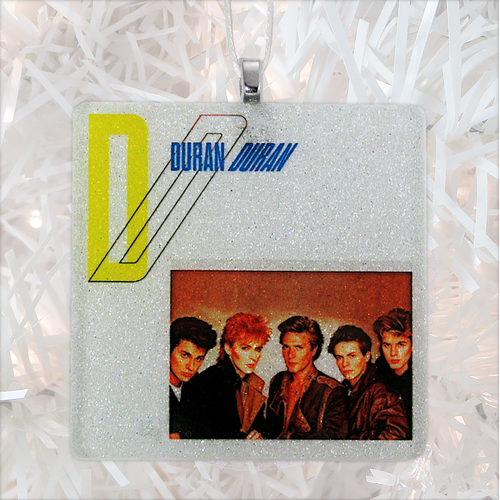 Duran Duran Album Cover Glass Ornament by BBJ