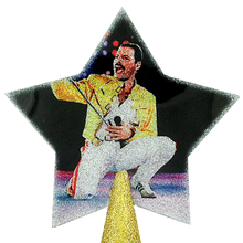 Load image into Gallery viewer, Freddy Mercury Tree Topper