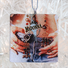 Load image into Gallery viewer, Madonna Like A Prayer Album Cover Glass Ornament by BBJ