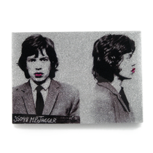 Load image into Gallery viewer, Mick Jagger mug shot wall art plaque