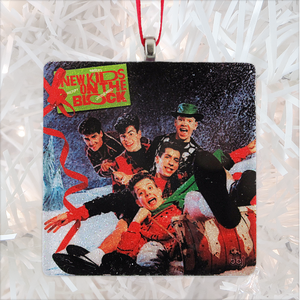 NKOTB Merry Merry Christmas Glass Ornament by BBJ
