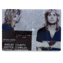 Load image into Gallery viewer, Ozzy Osbourne mug shot wall art plaque