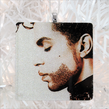 Load image into Gallery viewer, Prince The Hits Album Cover Glass Ornament by BBJ
